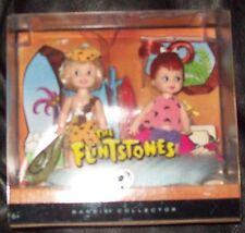 RARE Flintstones Pebbles & Bamm Bamm Kelly Dolls, MIB