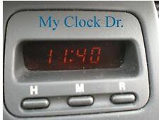 HONDA CRV CR-V DIGITAL CLOCK 1997 1998 1999 2000 2001 REPAIR SERVICE 2 YOUR unit