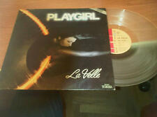 "12"" MIX LA VELLE PLAYGIRL EMI 2C 05252836 VG-/EX- FRANCE PS 1979 CLEAR VINYL PV"
