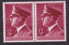 Germany Scott # B203 12+38pf MNH/OG Horizontal Pair