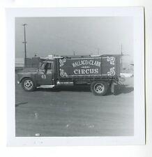Wallace-Clark Circus - Vintage Snapshot Photograph - Various Circus Equipment