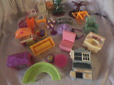 """Doll House 3"""" Table Chairs Sink Mirror Furniture  Misc. Parts Toys"""