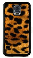 NEW Ladies For Samsung Galaxy S5 Animal Leopard Fashion Print Phone Case Cover