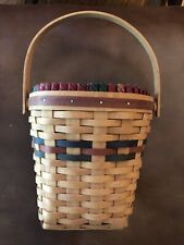1993 Longaberger Shades of Autumn Basket-Protector/Liner-Ex cellent Condition!