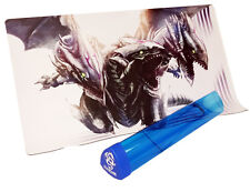 108 Blue Eyes Ultimate Dragon & Blue Playmat Tube CUSTOM PLAYMAT FREE SHIPPING