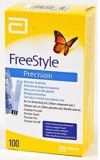 FreeStyle Precision Blutzucker-Teststreifen von Abbott 100St. PZN: 06905357 02