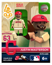 Justin Masterson MLB Cleveland Indians Oyo Mini Figure NEW G3