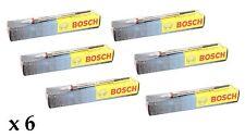 6 x Bosch Bougie préchauffage diesel pour BMW E60 E61 525d 525 D 530 530d 03-09