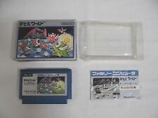 Devil World -- Boxed. Famicom, NES, Japan game. Work fully. 10371