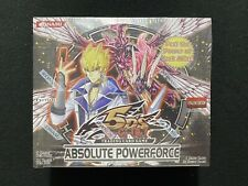 Yugioh! Absolute Powerforce 1st Edition Booster Box - Factory Sealed