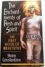 Storm Constantine SIGNED Enchantments of Flesh & Spirit (Wraeththu) UKHC 1st Edn