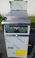 Pitco SRTG RETHERMALIZER High Efficiency gas fryer with Filter system