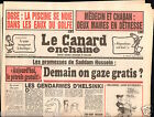 CANARD ENCHAINÉ Birthday Newspaper JOURNAL NAISSANCE 12 SEPTEMBRE SEPTEMBER 1990