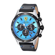 Ferrari Analógico Casual Pilota Chronometro Negro De los hombres 0830388