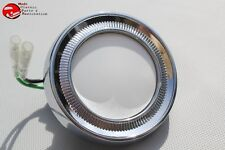 Chevy Dome Light Lamp Lens Chrome Assembly Courtesy Impala Hardtop Fullsize New