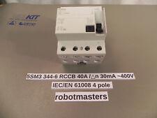 * Siemens FI-Schutzschalter 5SM3 344-6 RCCB gebraucht * used * Circuit Breaker *