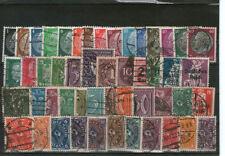 Nicht bestimmte Briefmarken aus dem deutschen Reich (1919-1923) Sammlungen