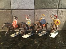 Toy Soldiers 4 Plastic 54mm Mounted Roman Cavalry and Allies