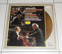 LaserDisc RACHMANINOV Piano Concerto 2 STRAUSS Don Quixote HERBERT VON KARAJAN