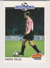 Panini Fussball 92-93 Action Cards #206 Andre Golke VFB Stuttgart