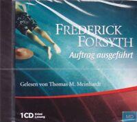 Auftrag ausgeführt + CD + Krimi Lesung Hörbuch + Frederick Forsyth + Spannend +