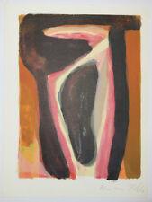 Bram VAN VELDE [Composition 2]. 1980. Lithographie originale SIGNEE