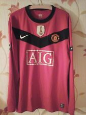 Manchester united Ryan Giggs 11 player issue shirt Lextra 2009