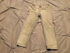 Ralph Lauren Polo Girl's Gray Aubrie Legging Jeans. Size 2T. USA FREE SHIPPING!!