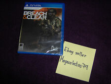 LIMITED RUN GAMES PS VITA ///Breach & Clear\ BRAND NEW FACTORY SEALED