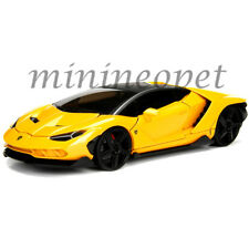 JADA 99360 HYPER SPEC 2017 LAMBORGHINI CENTENARIO 1/24 DIECAST MODEL CAR YELLOW