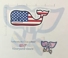 TPW NEW Authentic Vineyard Vines Sticker USA Flag Decal Stars Stripes