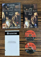 Resident Evil 0 Zero GameCube Complete Tested Cib Manual Inserts Game Case
