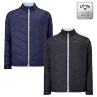 Callaway Golf Men's Fibre Filled Full Zip Puffer Jacket - NEW! 2020