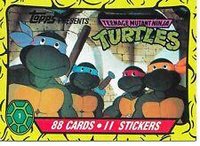 Teenage Mutant Ninja Turtles Cartoon Topps 1990  Trading Card Singles *You Pick*