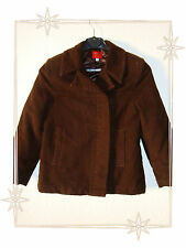 Manteau Court Marron Matelassé Kenzo Jungle Taille 8 ans
