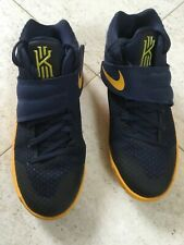 Nike Basketball Shoes Kyrie Irving 2 Midnight Navy Gold Playoff Youth 6.5