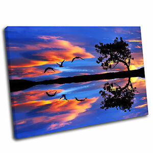 Night Sky Sea Landscape Canvas Wall Art Print Framed Picture 7 PREMIUM QUALITY