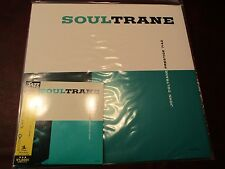 JOHN COLTRANE SOUL TRANE AUDIOPHILE LIMITED 140 GRAM LOOSE WRAP + JAPAN 20BIT CD