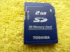 2GB SD Tarjeta de memoria Secure Digital-Toshiba-Nintendo DS/3ds/Wii