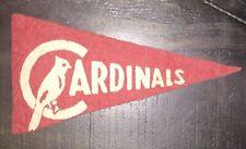 "Vintage 1936-38 ""BF3"" St. Louis Cardinals Mini FELT BASEBALL PENNANT 4 1/4"""