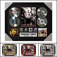 Parkway Drive 4CD Signed Framed Memorabilia Limited Ed. 2017-Multiple Variations