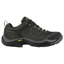 Karrimor Mens Aspen Low Walking Shoes Waterproof Lace Up Breathable Vibram