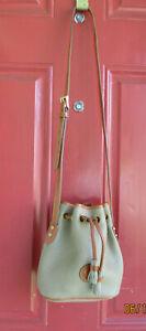 Dooney & Bourke Vintage Small Leather Drawstring Shoulder Bag