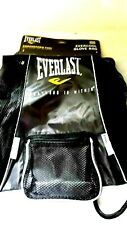 Everlast Boxing 420D  Glove Bag -EverCool-EverFreash -BLACK +FREE Mouthguard-NEW