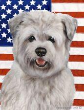 Patriotic (D2) Garden Flag - Blue Glen of Imaal Terrier 322141