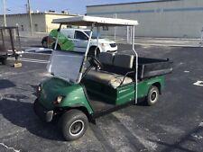 2008 yamaha gas ADVENTURER Utility golf Cart Industrial Burden Carrier green
