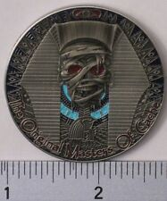 MASTERS OF THE CACHE II TWO TONE SATIN SILVER UNACTIVATED & TRACKABLE GEOCOIN