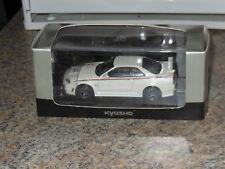 Kyosho 03383W 1/43 Nissan Skyline Nismo GT-R R34 S-Tune White Pearl