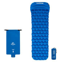 Outdoor Self Inflating Mattress Pad Air Camping Hiking Sleeping Mat Bed Pillo MC