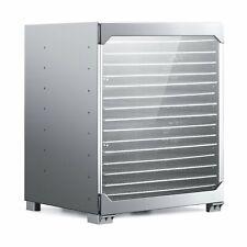 BioChef Kalahari 16 Tray Food Dehydrator Stainless Steel Best Beef Jerky